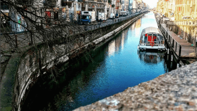 primo giorno a Milano