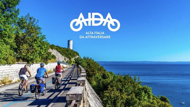 AIDA Alta Italia da attraversare in bici
