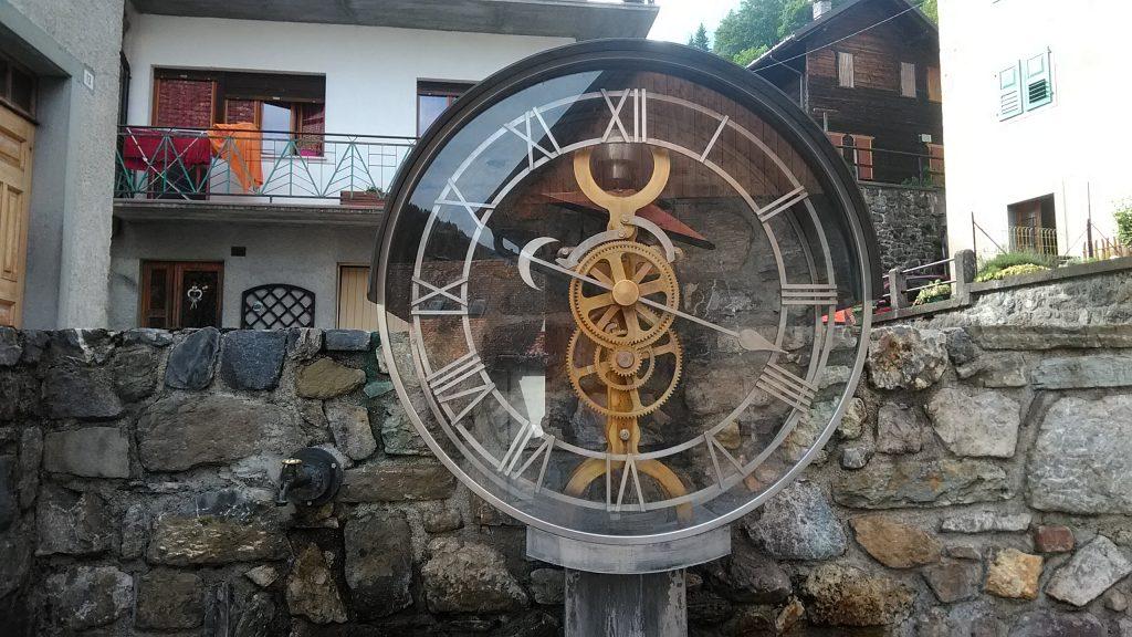 Orologi a Pesariis