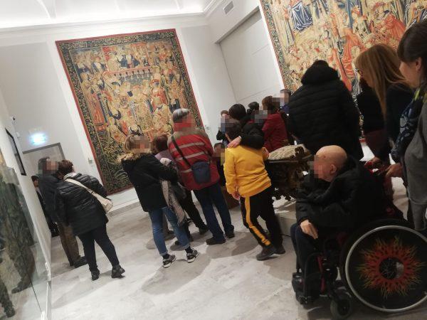 accessibilità ai musei di Vigevano