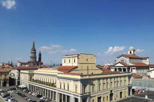 Novara dall'alto: una delle capitali dell'Alto Piemonte