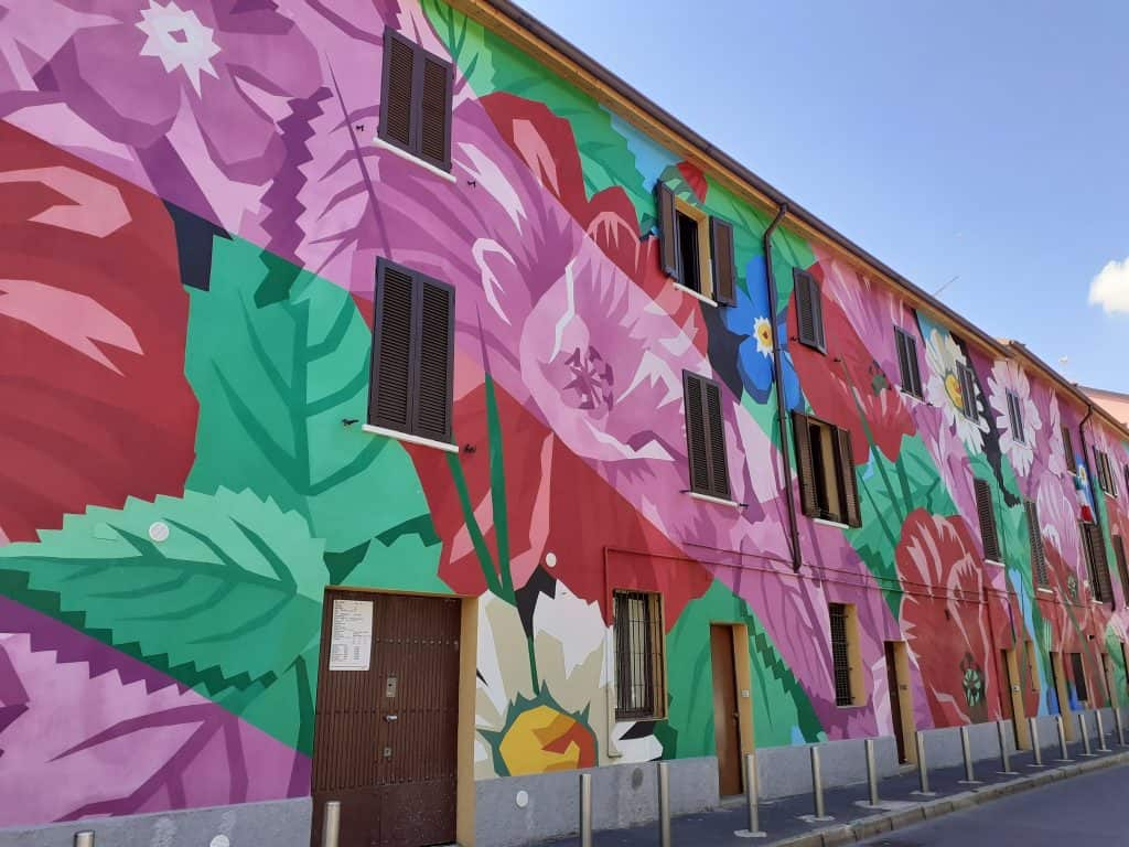 Murale - Ortica viene da Orto