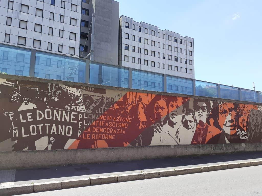 murale - il muro dei lavoratori