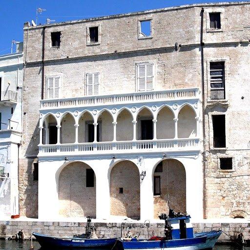 Palazzo Martinelli Lato affacciato sul mare