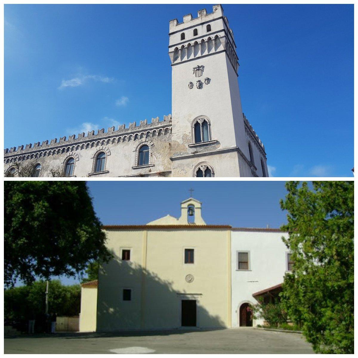 Palazzo della Bella e il Convento dei Cappuccini